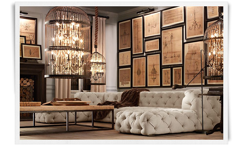 A deconstructed home by restoration hardware christina for Restoration house