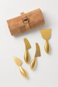 Anthropologie CHeese knives
