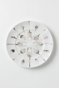 Anthropologie spoon dessert plate