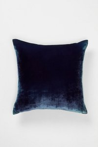 Anthropologie velvet pillow