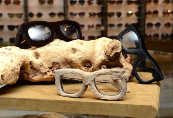 givenchy fur optical frames