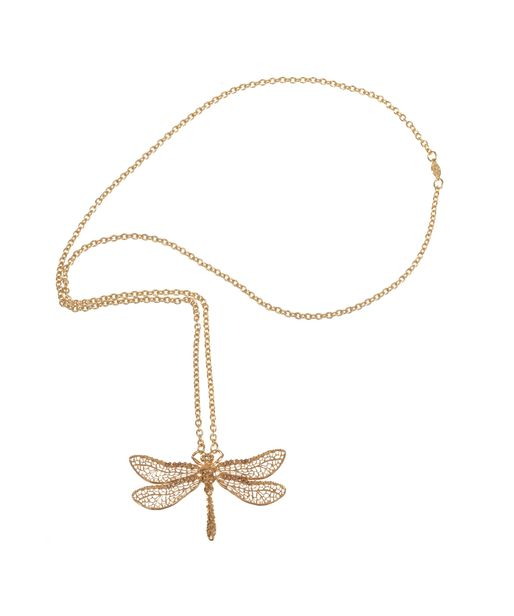 Alexander Mcqueen dragon fly necklace